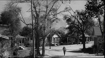 Maycomb County Alabama from the film To Kill A Mockingbird.